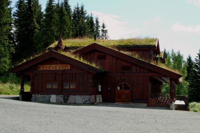 Nahoře stojí například takováto krásná soukromá chata.