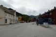 Jedna z hlavních ulic v norské Ottě.