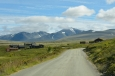 Výjezd z města Otta na Rondane, Norsko