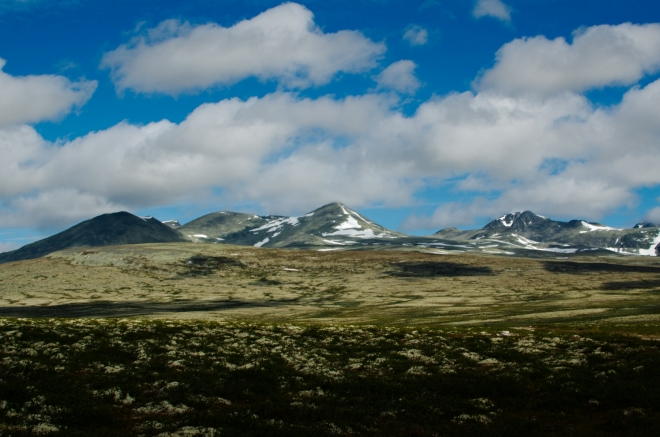 První výhledy na jádro národního parku