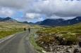 Národní park Rondane, cesta k jezeru Rondvatnet, Norsko