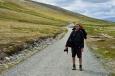 Základem pro úspěšnou horskou túru je pořádná výbava a správný styl k tomu. Národní park Rondane, Norsko