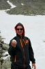 Národní park Rondane, cesta od jezera Rondvatnet na Rondeslottet, Norsko
