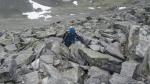 Výstup na Vinjeronden (2044 m), národní park Rondane, Norsko