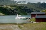 Jezero Rondvatnet, národní park Rondane, Norsko