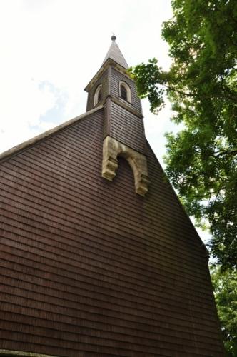 Kostel ve Svatém Tomáši.