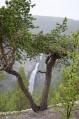Vodopád Veslulfossen, národní park Rondane, Norsko