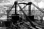 Stavba mostu přes Lužnici