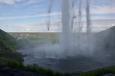 Padající masy vody