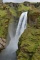Jeden z vyšších vodopádů