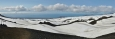 Panorama z průsmyku Fimmvörðuháls