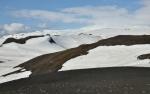 Eyjafjallajökull se choulí v mracích