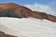 Kráter Magni více zblízka