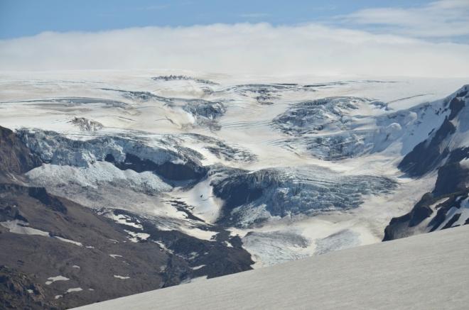 Další splaz Mýrdalsjökullu