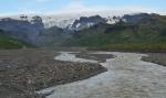 Krossá a Mýrdalsjökull