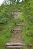Oficiální začátek treku Laugavegur. Kus vedle byla cedule s orientační mapičkou.