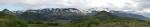 Večerní panorama Eyjafjallajökullu