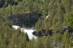 Divoká řeka v Norsku