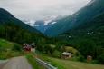 Cesta k vodopádu Vermafossen, Norsko