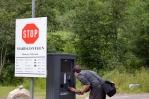 Mýtná brána k vodopádu Mardalsfossen, Norsko