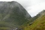 Okolí vodopádu Mardalsfossen, Norsko