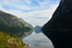 Jezero Eikesdalsvatnet, Norsko