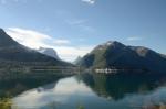 U Åndalsnes, Norsko