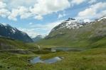 Norsko, silnice mezi Åndalsnes a Valldalem