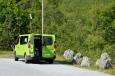 Norsko, odpočívadlo u silnice mezi Åndalsnes a Valldalem