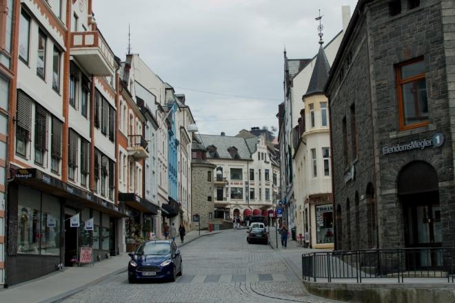 Kromě centra se zdají být opraveny i ostatní části města.