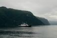 Trajekt z Linge do Eidsdalu, Norsko
