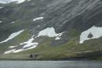 Jezero Langvatnet, Norsko
