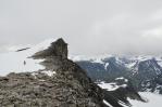 Svellnose, výstup na Galdhøpiggen, Norsko