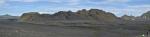 Panorama planiny, levá část