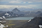 Álftavatn a v pozadí Mýrdalsjökull