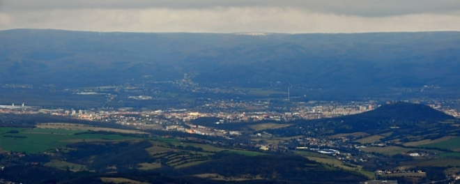 Panorama Teplice.