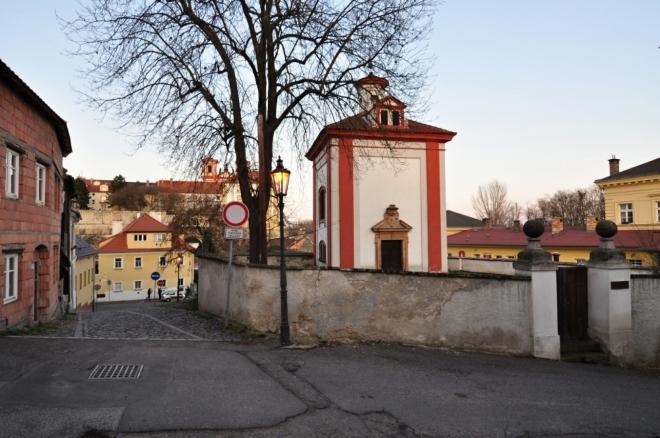 Kaple sv. Jana Křtitele.
