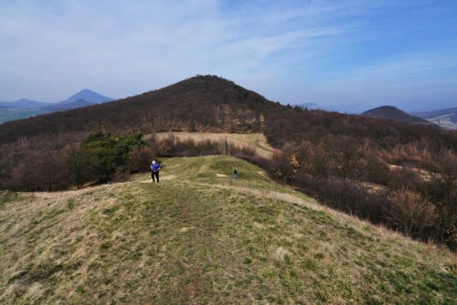 Z výstupu na Holý vrch.