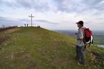 Roman před křížkem...