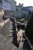 Máchovy schody s koledníky.