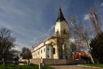 Libochovický kostel všech svatých.