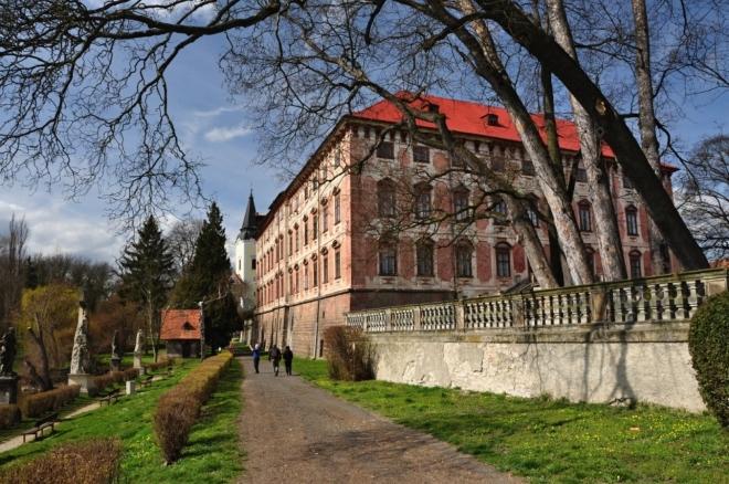 Zámek Libochovice.