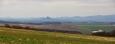 Panorama od Řípu.
