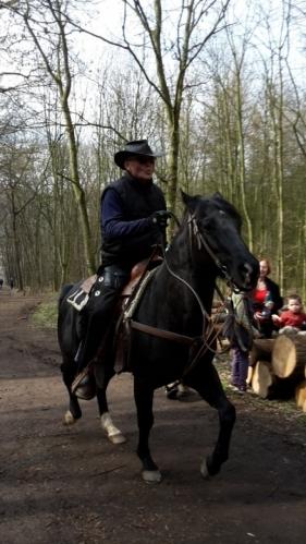 Koňmo na Lovoš.