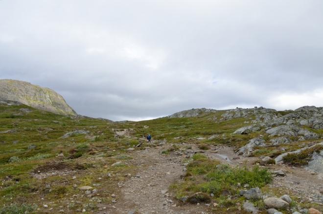 Směrem do kopce toho jinak není moc k vidění.