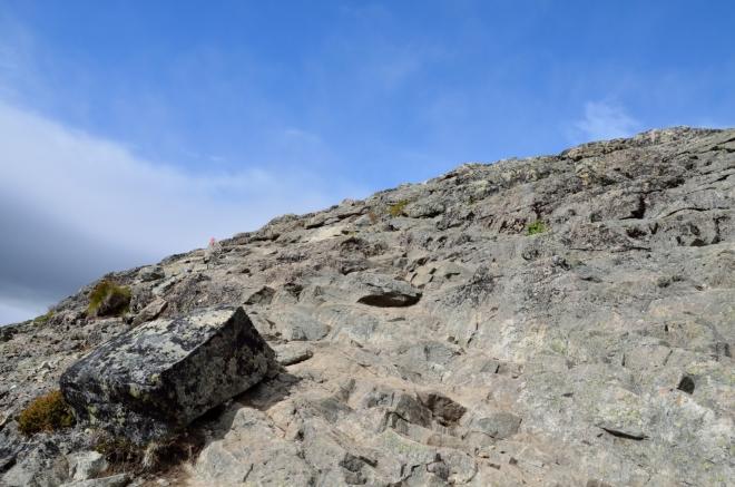 Kdo rád chodí po kamenech, přijde si tu na své.