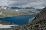 Jezero Bessvatnet, Jotunheimen, Norsko