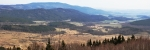 Panorama Blanského lesa - Kleť (1 084 m n. m.).
