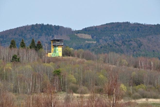 Třebovická vojenská věž.
