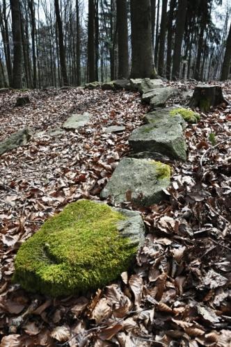 Nosit si z vrcholu Albertova domů kameny se nedoporučuje!